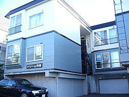 北海道札幌市豊平区月寒東二条19丁目の賃貸アパートの外観