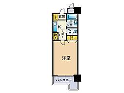 ダイナコートエスタディオ桜坂[7階]の間取り