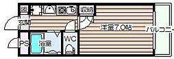 フォーラム福島・野田[4階]の間取り