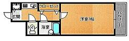 荒江四つ角ビル[703号室]の間取り