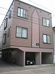 北海道札幌市豊平区豊平五条6丁目の賃貸アパートの外観