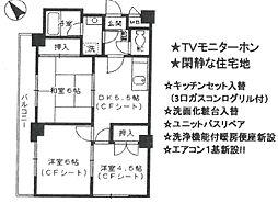 セシル富松[301号室]の間取り