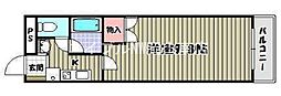 岡山県玉野市田井4丁目の賃貸マンションの間取り