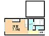 間取り,ワンルーム,面積28.35m2,賃料2.9万円,JR学園都市線 あいの里教育大駅 徒歩16分,バス 中央バスあいの里4条5丁目下車 徒歩1分,北海道札幌市北区あいの里四条5丁目10番10号