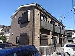 千葉県千葉市稲毛区小仲台9丁目の賃貸アパートの外観