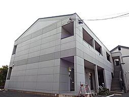 愛知県一宮市木曽川町黒田字松山東の賃貸アパートの外観