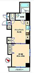 神奈川県横浜市南区真金町2丁目の賃貸マンションの間取り