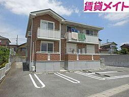 三重県松阪市田原町の賃貸アパートの外観