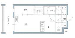 リアンレガーロ井尻ステーションII[3階]の間取り
