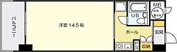 夏井ケ浜リゾートマンション[307号室]の間取り