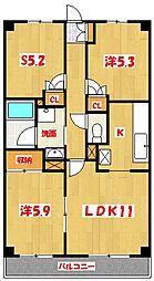 リュウ壱番館[2階]の間取り