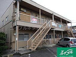 滋賀県大津市唐崎1丁目の賃貸アパートの外観