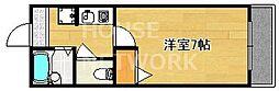 ブロッサム大徳寺[202号室号室]の間取り