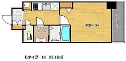 ファステート神戸アモーレ[10階]の間取り