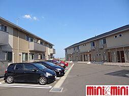 佐賀県佐賀市兵庫町大字瓦町の賃貸アパートの外観