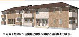 愛媛県松山市越智3丁目の賃貸アパートの外観