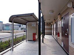 愛知県清須市朝日貝塚の賃貸アパートの外観
