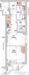 (仮)武蔵小杉フォレストスクエアレジデンス 2階1DKの間取り
