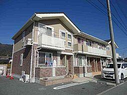 山梨県甲府市横根町の賃貸アパートの外観