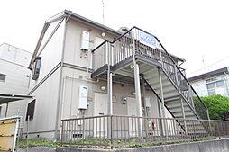 愛知県名古屋市名東区照が丘の賃貸アパートの外観