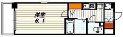 エステムコート京都烏丸II[4階]の間取り