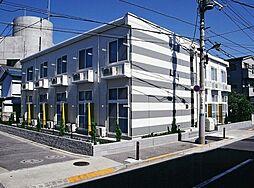 東京都足立区花畑4の賃貸アパートの外観