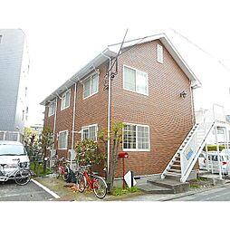 東京都品川区南品川6丁目の賃貸アパートの外観