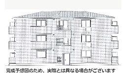 京都府京都市山科区西野小柳町の賃貸アパートの外観