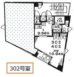 塚本丸武ビル[3階]の間取り