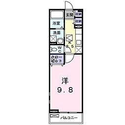 セレーノS・K[1階]の間取り