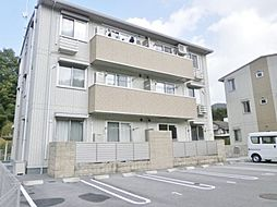 広島県東広島市八本松町宗吉の賃貸アパートの外観