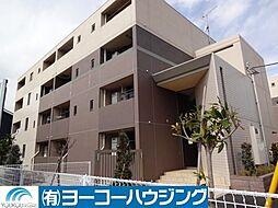 東京都あきる野市引田の賃貸マンションの外観