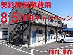 佐賀県佐賀市東与賀町大字下古賀の賃貸アパートの外観