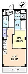 仮)緑が丘西2丁目マンション[2階]の間取り