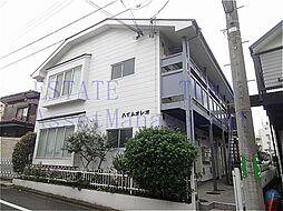 東京都世田谷区奥沢6丁目の賃貸アパートの外観