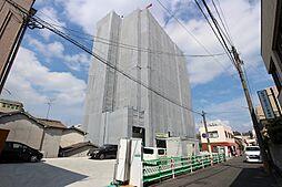 福岡県北九州市小倉北区朝日ケ丘の賃貸マンションの外観