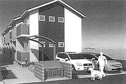 埼玉県八潮市大瀬3丁目の賃貸アパートの外観
