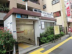 日比谷線三ノ輪駅