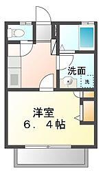 メゾンウィング[2階]の間取り