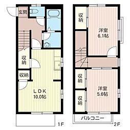 サンモ−ル東豊田[1階]の間取り