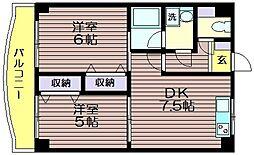 ソルティハイム[2階]の間取り