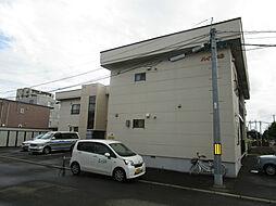 北海道札幌市東区北四十三条東13丁目の賃貸アパートの外観