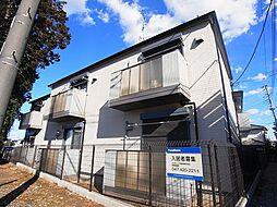 千葉県松戸市六実5丁目の賃貸アパートの外観