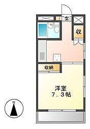 ファミール茶屋ヶ坂[3階]の間取り