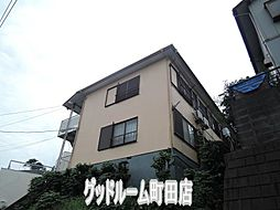 神奈川県川崎市麻生区上麻生2丁目の賃貸アパートの外観