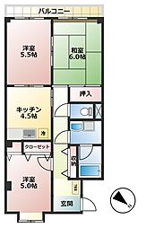 ルルド・タカハラ[2階]の間取り