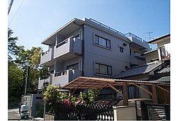 京都府京都市左京区北白川西町の賃貸マンションの外観