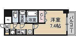 アドバンス新大阪Ⅵビオラ[10階]の間取り