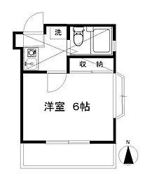 湘南台ドミール21C[103号室]の間取り