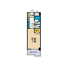 ピナクルコーポ[4階]の間取り